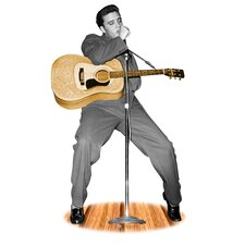 Hollywood Elvis Presley Life-Size Cardboard Stand-Up