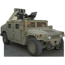 Army Hummer Cardboard Stand-Up