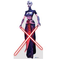 Asajj Ventress Clone Trooper Cardboard Stand-Up