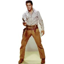 Elvis Presley Gunfighter Cardboard Stand-Up