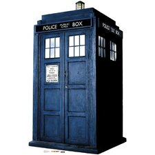 The Tardis Cardboard Stand-Up