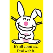 Happy Bunny - All About Me Cardboard Stand-Up