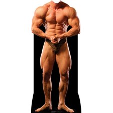 Muscle Man Stand-In Cardboard Stand-Up