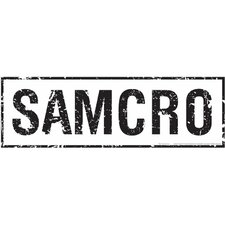 Sons of Anarchy Samcro Wall Decal