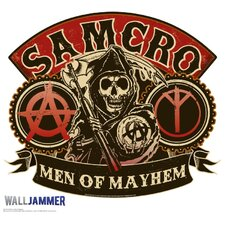 Sons of Anarchy Men of Mayhem Wall Jammer