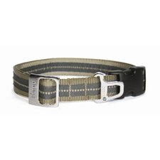 Wander Dog Collar in Khaki / Charcoal