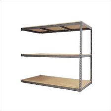 Rivet Wedge-Lock High Capacity Bulk Unit with 3 Shelf Frames: Adder Unit