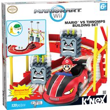 Bowser's Castle: Mario and the Thwomps Building Set
