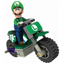 <strong>K'NEX</strong> Nintendo Luigi and Standard Bike Building Set