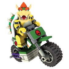 <strong>K'NEX</strong> Nintendo Bowser and Standard Bike Building Set