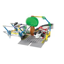 <strong>K'NEX</strong> Mario Kart Wii Mario vs. Delfino Oak Tree Track Building Set