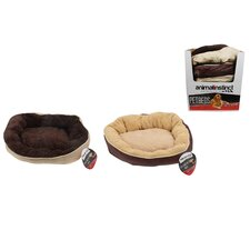2 Assorted Deluxe Square Pet Bed