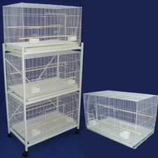 Medium Bird Cage (Set of 4)