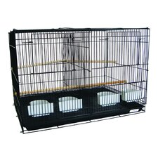 Small Bird Cage with Divider