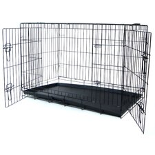 Double Door Heavy Duty Pet Crate