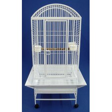 Narrow Dome Top Parrot Bird Cage