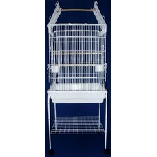 Open Top Small Parrot Bird Cage