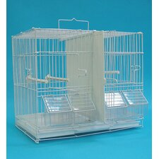 Canary Finch Breeding Cage in White