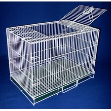 Small Animal Cage With Bottom Grate