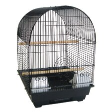 "3/8"" Bar Spacing Round Top Bird Cage"
