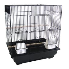 Square Flat Top Small  Bird Cage