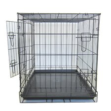 Double Door Dog Kennel Cage
