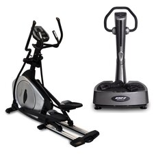 Total Gym Package Elliptical and Vibration Plate