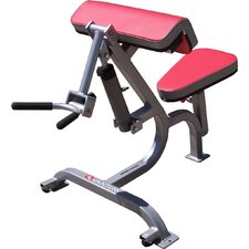 <strong>Quantum Fitness</strong> Adult Quick Circuit Commercial Arm Curl / Tricep Adjustable Hyperextension Bench