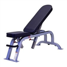 <strong>Quantum Fitness</strong> High Impact Commercial Adjustable Utility Bench with Wheels