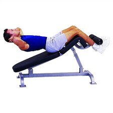 High Impact Commercial Adjustable Sit - Up / Decline Ab Bench
