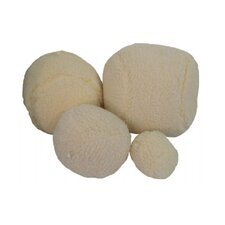 Sheepskin Ball Dog Toy