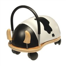 <strong>Prince Lionheart</strong> Wheely Bug Cow Push/Scoot Ride-On