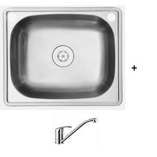 Jarah 45L Inset Laundry Tub and Tap Package