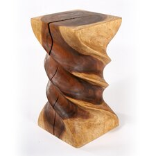 Triple Twist End Table