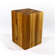Block Hollow End Table
