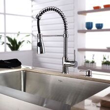 <strong>Kraus</strong> Single Handle Single Hole Kitchen Faucet
