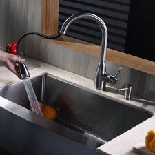 "32.88"" x 20.75"" Farmhouse Kitchen Sink"