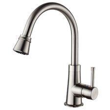 One Handle Single Hole High Neck Kitchen Faucet