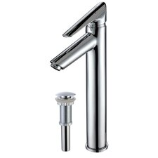 Decus Single Hole Bathroom Faucet with Pop Up Drain