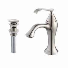 Ferus Single Hole Bathroom Faucet with Single Level Handle