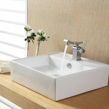 Bathroom Combos Bathroom Sink  with Single Handle Single Hole Unicus Faucet