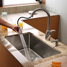 "<strong>Kraus</strong> 30"" x 18"" Undermount Kitchen Sink"