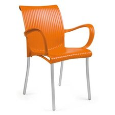 Verona Arm Chair in Orange