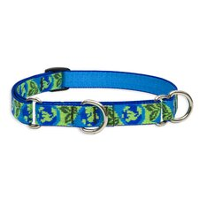 Earth Day Adjustable Medium Dog Combo Collar