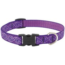 Adjustable Jelly Roll Design Dog Collar