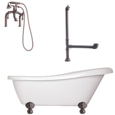 "Newton 67"" x 31"" Slipper Tub"