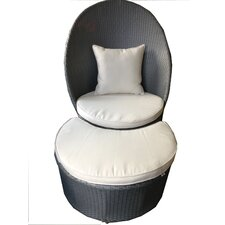 Lolla Leisure Chair and Ottoman