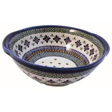 "10"" Berry Bowl/  Strainer - Pattern DU60"