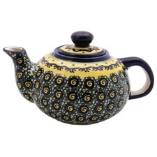 <strong>Euroquest Imports Polish Pottery</strong> 14 oz Teapot - Pattern DU1