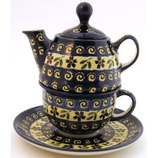 10 oz Tea for One Teapot & Saucer - Pattern 175A